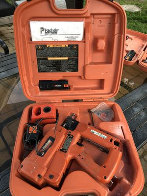 Paslode finishing nail gun for Sale in Mansfield, MA