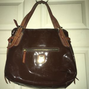 Doonie and Bourke Patent leather purse for Sale in Charleston, WV