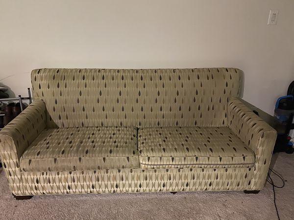 Convertible sofa to queen bed