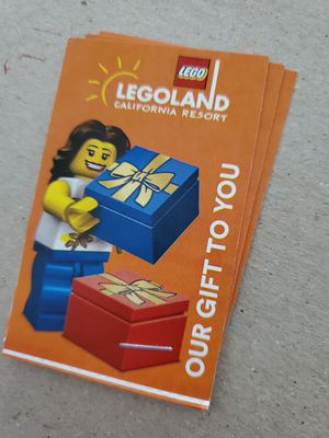 Legoland tickets for Sale in Riverside, CA