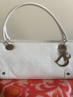 Christian Dior White Leather Purse for Sale in Nashville,  TN