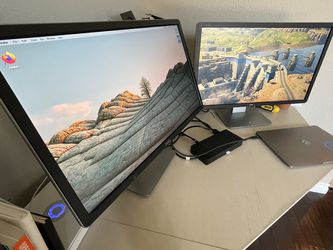 Dell Dual Monitors W/ Dell Docking Station for Sale in Oceanside,  CA