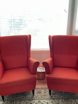 IKEA Wing Chairs (a Pair) for Sale in Tacoma,  WA