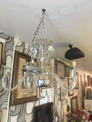 Vintage Lucite chandelier great for a haunted house fun $25 for Sale in San Diego, CA