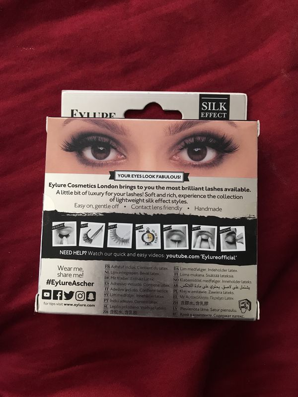 b9edc05392d Eylure Ascher lashes!! for Sale in Temecula, CA - OfferUp