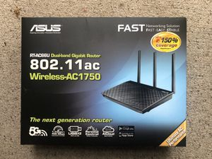 ASUS RT-AC66U Dual Band Gigabit Wireless Router for Sale in San Diego, CA
