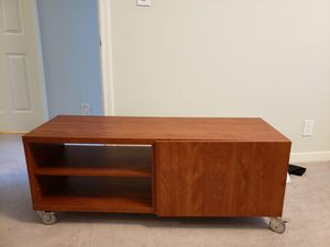 TV Console Table with Storage / Entertainment Table for Sale in San Mateo, CA
