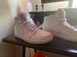 Jordan 1 white for Sale in Houston, TX