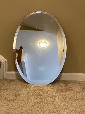Oval wall mirror for Sale in Annandale, VA
