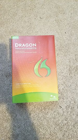 Dragon Naturally Speaking Home Edition Version 12 for Sale in Gilbert, AZ