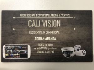 Professional Security Camera Installations & Service for Sale in Upland, CA