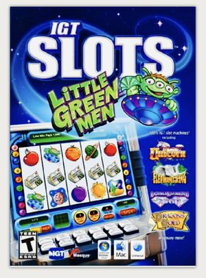 GT Slots: Little Green Men - PC/Mac PC Casino Game New Sealed Case for Sale in Houston, TX