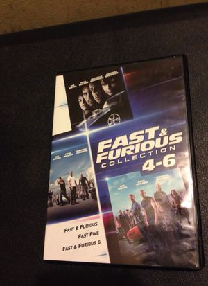 (New) Fast &' Furious 4-6 DVD Collection (MUST SEE) 10$ for Sale in Garland, TX