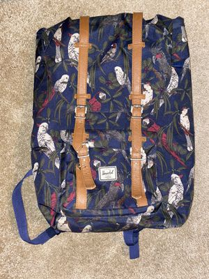 Herschel Supply backpack with parrots for Sale in Aurora, OR