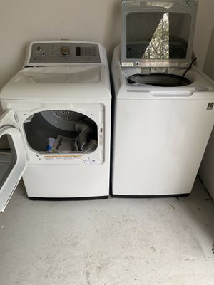 G. E. Washer and Dryer set for Sale in Orange City, FL