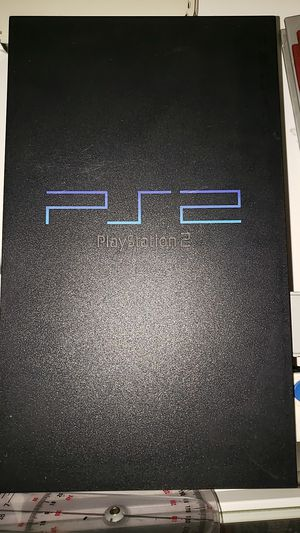 PS2 Console and Wires for Sale in Queens, NY