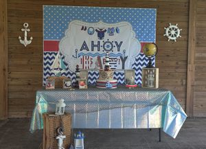 Nautical Baby Shower themed decorations for Sale in St. Cloud, FL