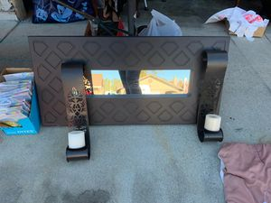 Mirror and wall scones for Sale in Lake Forest, CA