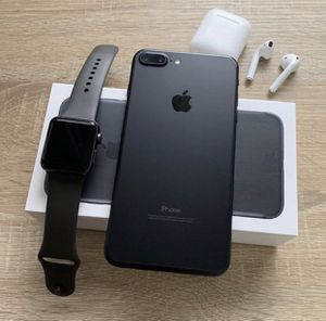 iPhone 7 Plus , Apple Watch 3 , A set of Airpods for Sale in Antioch, CA