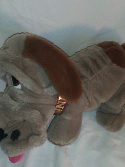 Kennel Club Vintage 1986 Animal Playthings Gray Brown Basset Hound Plush Dog for Sale in Dewey,  AZ