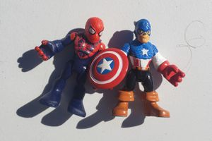 Spiderman and captain America imaginext toys for Sale in Las Vegas, NV
