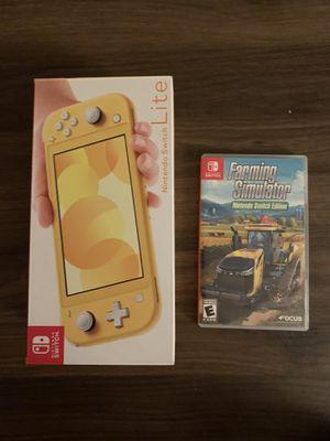 Nintendo Switch Lite W/Farming Simulator for Sale in La Mirada, CA