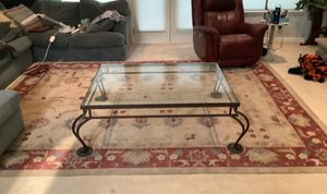 Wrought Iron Cocktail Table for Sale in El Dorado Hills, CA