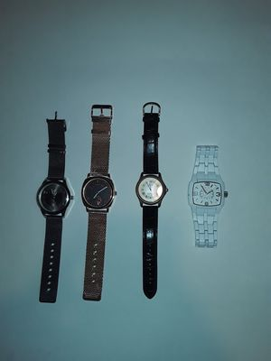 2 Polo ASSN. Watches, a Stauer watch, and a Folio Watch for Sale in Green Bay, WI