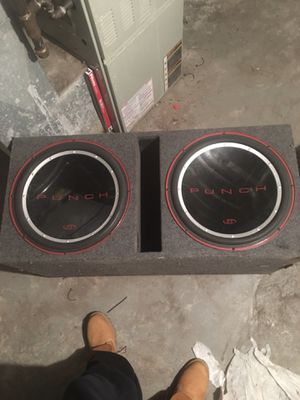 Punch 15inch subwoofers for Sale in St. Louis, MO