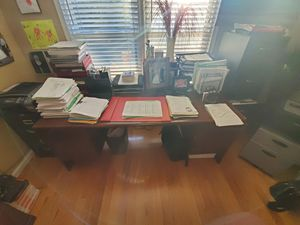 Office Desk, Storage, Office Desk Chair and File Cabinets for Sale in Roswell, GA