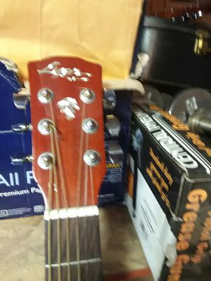 Lyon acoustic guitar good condition sounds good new strings for Sale in Chula Vista, CA