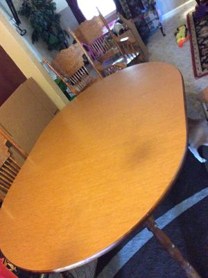 Table and 4-chairs for Sale in Arlington, TX