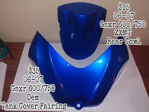 Motorcycle Parts Triumph Kawasaki Honda Suzuki GSXR Joe Rocket Yamaha for Sale in San Antonio, TX