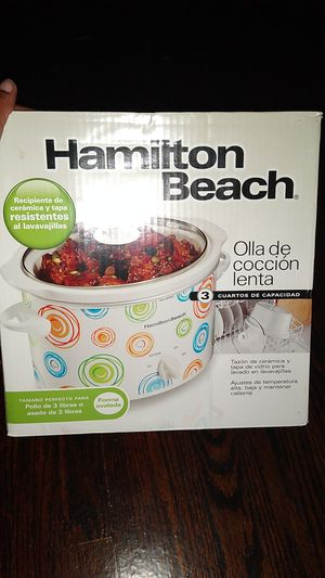 Hamilton Beach Crock Pot for Sale in St. Louis, MO