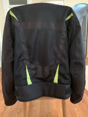 Motorcycle Black/Green Summer Jacket for Sale in New Britain, CT