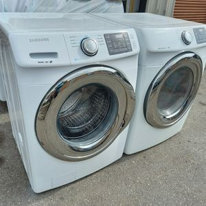 2016 Samsung Steam Washer and Dryer. Excellent conditions. 60 days warranty. #227&271 for Sale in Lakeland, FL