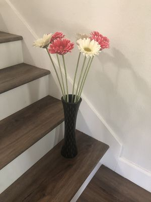 Home and Office Decoration Vase with Flowers for Sale in Irvine, CA