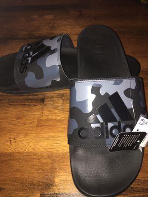 Adidas slipper for Sale in Waterbury, CT