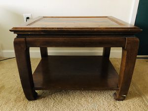 Stained Wood Table for Sale in Chevy Chase, DC