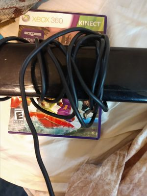 Xbox 360 Kinect and game for Sale in Plano, TX