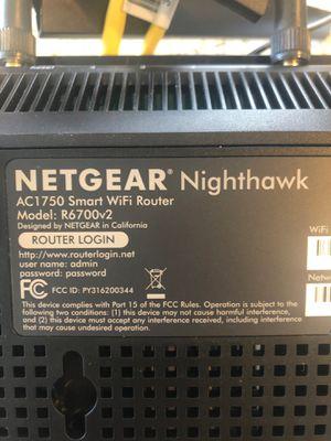 Netgear Nighthawk AC1750 wifi router for Sale in San Diego, CA