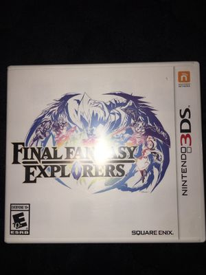 Final Fantasy Explorers 3DS for Sale in Goodyear, AZ