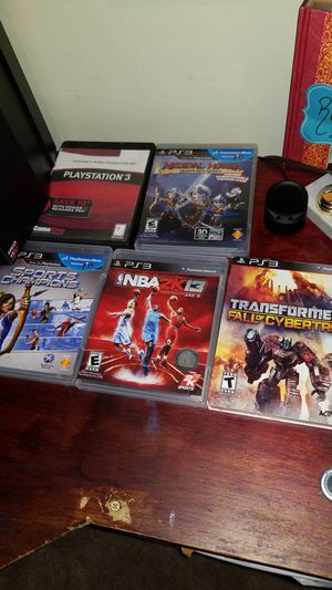 5 PS3 games ($10 for ALL of them) for Sale in Bellevue, WA