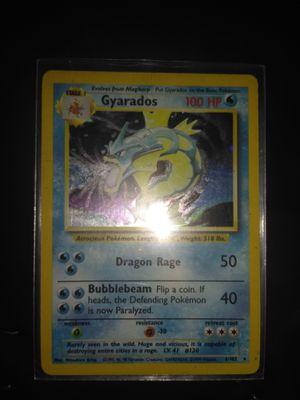 Base set unlimited Gyarados Pokemon Card (PL) for Sale in Greenville, SC