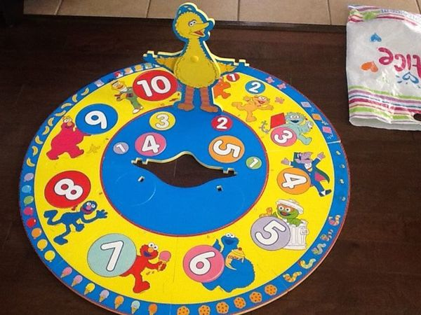 Sesame Street large puzzle/game