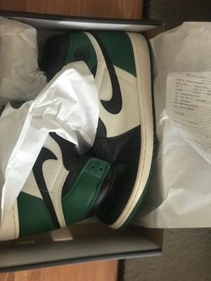 Jordan 1 Pine Green size 12 DS with receipt for Sale in Chicago, IL
