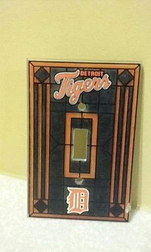 Detroit Tigers Light Switch Plate for Sale in Grosse Pointe Park, MI