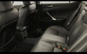 Black leather seats (Lexus IS250 2012 but fits '08-'12) for Sale in Bothell, WA