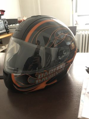 Harley Davidson Motorcycle helmet SzXL near new condition for Sale in Palisades Park, NJ