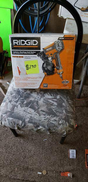 Ridgid barreled nail gun for Sale in Midland, TX